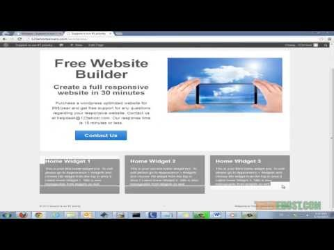 Create a responsive website for free