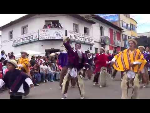 Desfile de la alegria cayambe 2016