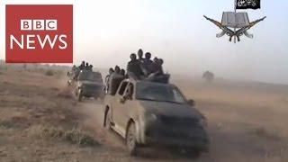 Rare video shows Boko Haram attack - BBC News