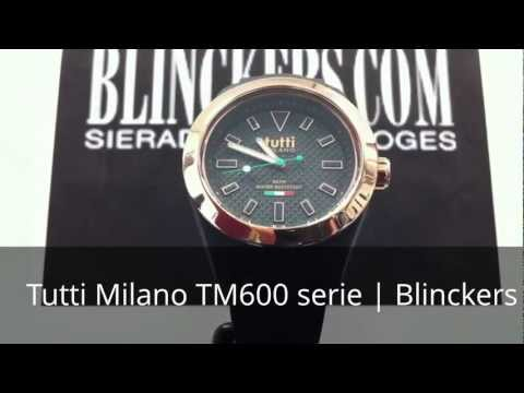 Horloge productvideo Tutti Milano TM600 serie | Blinckers.com