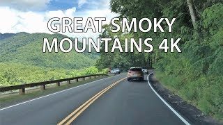 Mountain Driving - America's Most Visited Park 4K - USA