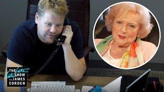 Betty White Prank Called James Corden