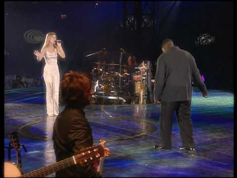 Celine Dion & Barnev Valsaint - I'm Your Angel (Live In Paris at the Stade de France 1999) HDTV 720p