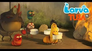 Larva Terbaru Cartoon 2018   Episodes Fire - Balance - Water Show    Larva 2018 Full Movie