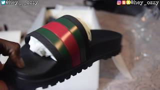 Gucci Flip Flops Review + On Feet Review (Gucci Web Slide Sandals)