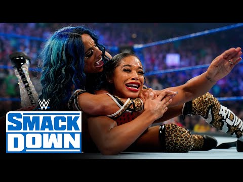 Bianca Belair & Sasha Banks vs. Carmella & Zelina Vega: SmackDown, July 30, 2021