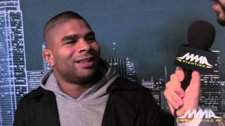 UFC 185: Alistair Overeem on Difference in Him Since Last Trip to Dallas