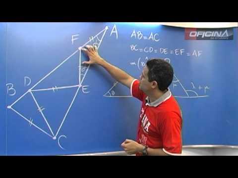 Dica de Matemática - Triângulos Isósceles