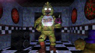 CHASED INTO THE SECRET SAFE ROOM BY A TERRIFYING ANIMATRONIC.. | FNAF Visiting Fazbears
