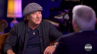 AC/DC's Brian Johnson on The Big Interview with Dan Rather   Sneak Peek