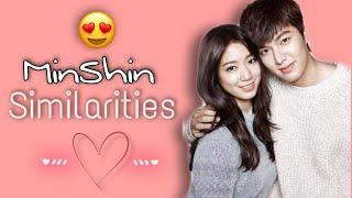 MinShin Similarities (Love is.. The Heirs OST 2)