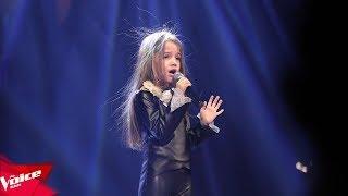 Sibora - I'm sorry | Audicionet e Fshehura | The Voice Kids Albania 2018