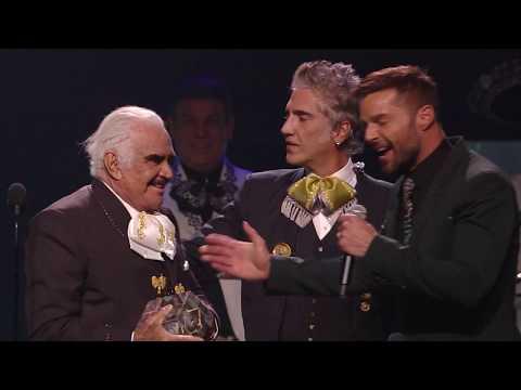 Vicente Fernandez Accepts Presidents Award | 2019 Latin GRAMMYs Acceptance Speech
