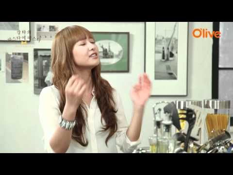 [O'live TV]Victoria@Kangta's pasta e pasta(宋茜做客安七炫料理頻道)Subtitle字幕