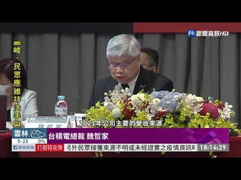 台積電法說會 去年Q4每股賺5.51元|華視新聞 20210114