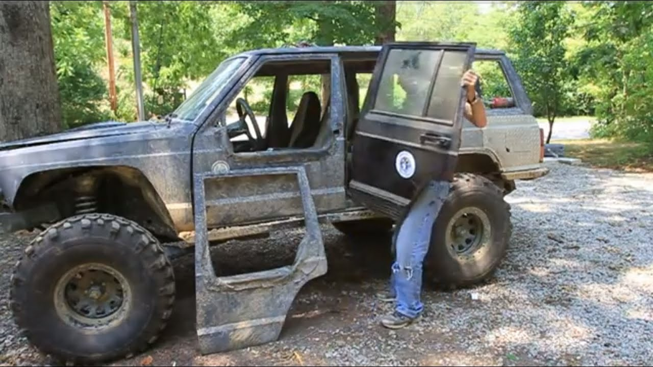 How To Make Removable Half Doors Jeep Cherokee Part 1