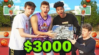 Last To Miss 3 Point NBA Basketball Shot WINS $3000