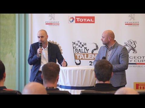 Novinky v Peugeot Rally Cupu a v Autoklub Rally talent