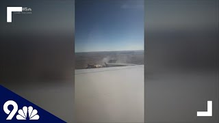 RAW: Passenger on flight that dropped debris on Colorado neighborhood