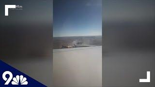 RAW: Passenger on flight that dropped debris on Colorado neighborhood