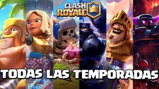 TODAS las TEMPORADAS de Clash Royale (seasons 1-22) /Alan Parw