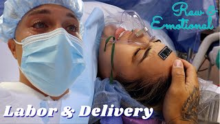 Our Labor & Delivery *Raw & Emotional* | JuJu & Des