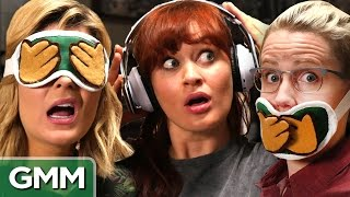 3 Monkeys Challenge ft Grace Helbig, Mamrie Hart and Hannah Hart