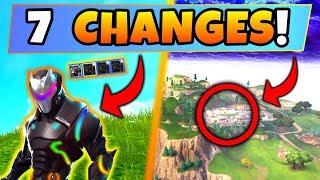 Fortnite Update: 7 SECRET CHANGES! – NEW Omega Colors, Soccer Stadium (Battle Royale New Gun/Skin)
