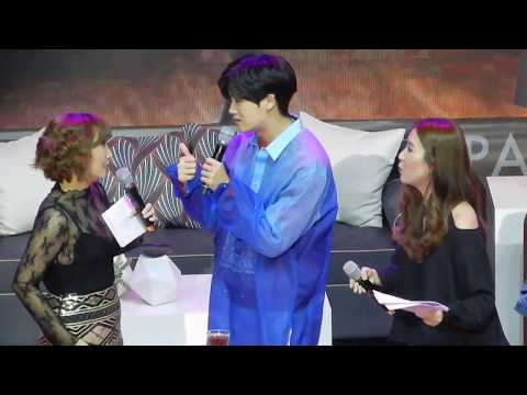 [11.11.2017] Park Hyung Sik 박형식 Fanmeet in Manila - Talk (Trying Filipino Food)