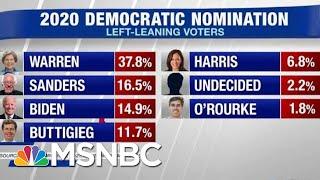 Elizabeth Warren Jumps Out To A Big Lead In MoveOn Poll | Hardball | MSNBC
