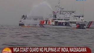 UB: Mga Coast Guard ng PHL at India, nagsagawa ng maritime exercise sa Manila Bay