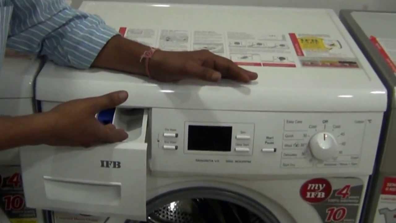 Feature Of Ifb Automatic Washing Machine Hindi 720p Hd