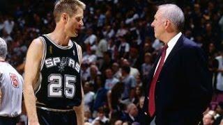 Spurs Anniversary: Steve Kerr Sparks A Run For The Spurs