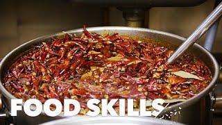 How to Eat Sichuan Hot Pot | Food Skills