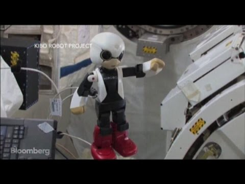 First Robot Astronaut in Space