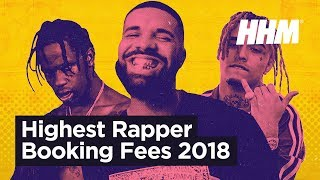 Top 20 Rappers With the Most Expensive Booking Fees (2018)