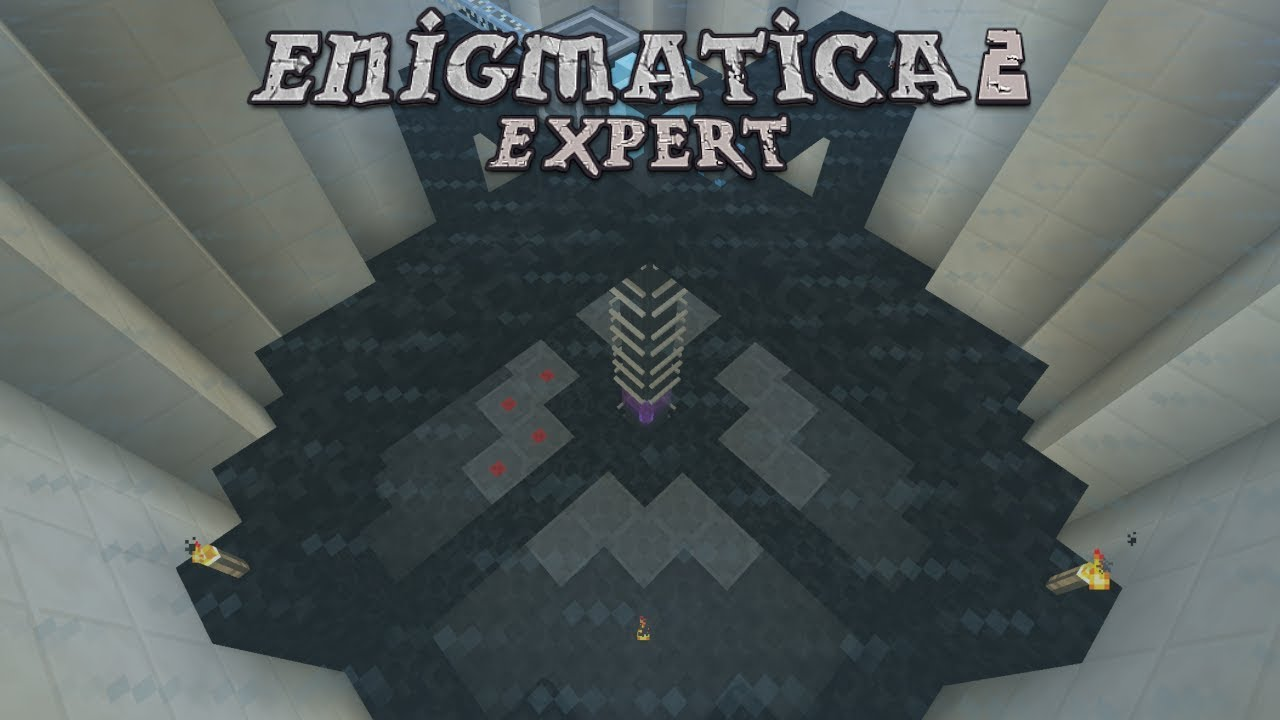 Enigmatica 2 Expert - VOID ORE MINER TIER 6 [E80] (Modded Minecraft)
