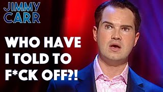 Jimmy's Run-in With Anthony Kiedis From The Red Hot Chili Peppers! |  Jimmy Carr: Stand Up