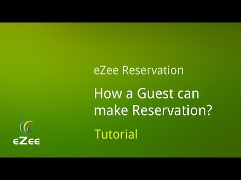 How to Make Reservation using eZee Reservation, Online Hotel Booking Engine