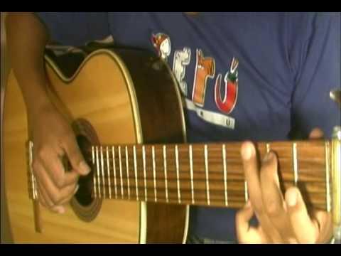 angel Cristian Castro - Cover guitarra tutorial acordes