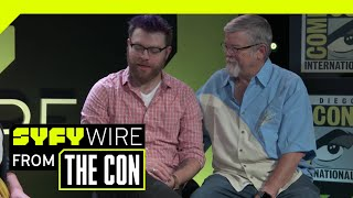 The Adventure Zone's Clint & Travis McElroy On Their Graphic Novel | SDCC 2018 | SYFY WIRE