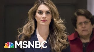 Hope Hicks To Resign As White House Communications Director | MSNBC