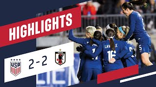 WNT vs. Japan: Highlights - Feb. 27, 2019
