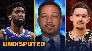 Chris Broussard makes his Game 6 winner prediction between the Hawks and 76ers | NBA | UNDISPUTED