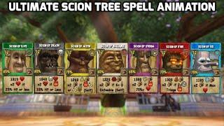 wizard101 all scion spells