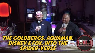 The Goldbergs, Aquaman, Disney & Fox, Into the Spider-verse