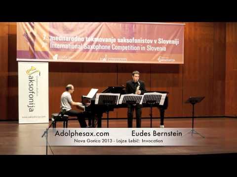 Eudes Bernstein - Nova Gorica 2013 - Lojze Lebič: Invocation