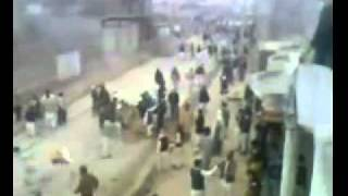 ATTACK OF SiPAH SAHABA in matami jaloos at Girja Road rawalpindi on 04-02-2011.flv