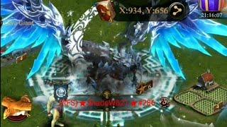 Clash Of Kings : BatMan Vs Shadow - KvK FUN - 870 Million Target