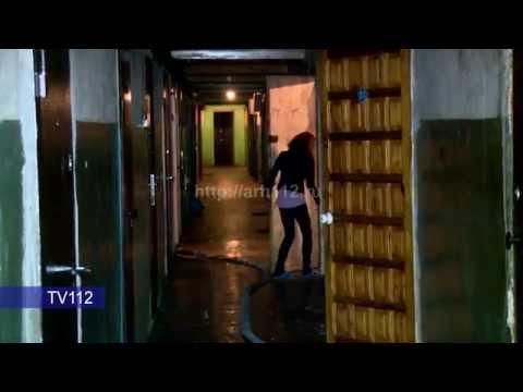 TV112 Пожар на Урицкого 68 в Архангельске 05.03.2015